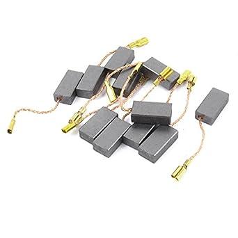6 mm x 11 mm x 5 mm escobillas de carbono para Generic Motor el/éctrico 2 piezas