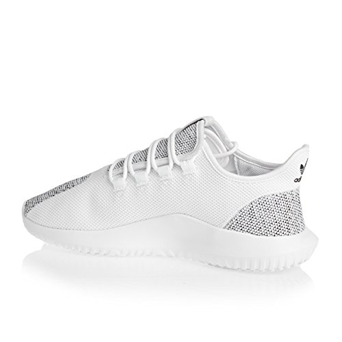 Adidas Originals Trainers - Adidas Originals Tubular Shadow Knit Shoes - White/Black