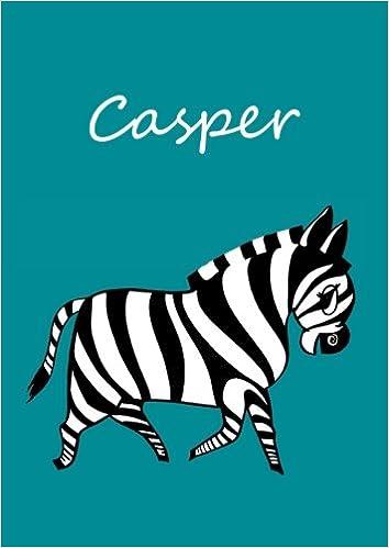 Casper: Malbuch / Notizbuch / Tagebuch - Casper: DIN A4 ...