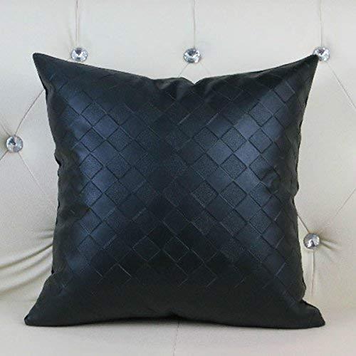 Giow Lattice Pillow Fashion Simple Modern Pillow Brown Negro ...