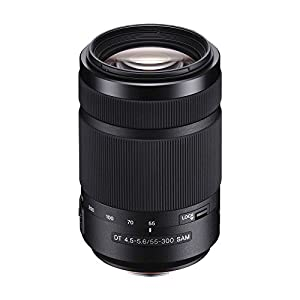 Sony 55-300mm F/4.5-5.6 DT A-Mount Zoom Lens for Sony Alpha Digital SLR Cameras by Sony