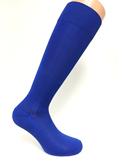 SOC COM Poly Pro Soccer Socks, Royal, Medium - SOC0189 Royal Blue Soccer Arch