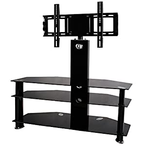 Bps 30 Quot 60 Quot Tv Stand 3 Shelves Cantilever Glass With