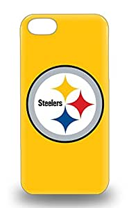 Durable 3D PC Case For The Iphone 5/5s Eco Friendly Retail Packaging NFL Pittsburgh Steelers Logo ( Custom Picture iPhone 6, iPhone 6 PLUS, iPhone 5, iPhone 5S, iPhone 5C, iPhone 4, iPhone 4S,Galaxy S6,Galaxy S5,Galaxy S4,Galaxy S3,Note 3,iPad Mini-Mini 2,iPad Air )