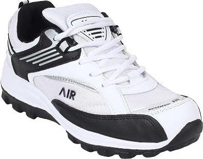 55109b3e3c629 Hytech Men's Air White Black Running Shoes