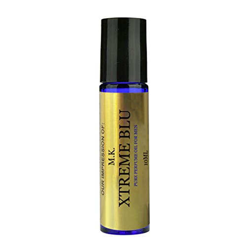 XTREME BLU Perfume Oil for men. A Premium IMPRESSION Perfume with SIMILAR Fragrance Accords to Famous Designers. This is a VERSION/TYPE Oil; Not Original Brand (10ML ROLL ON)