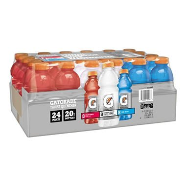 Gatorade Sports Drinks Liberty Variety Pack (20 fl. oz. bottles, 24 ct.) (pack of 6) by Gatorade