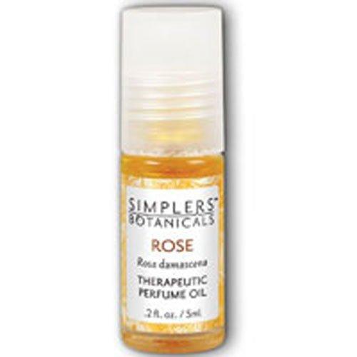 Simplers Botanicals Rose Perfume, Oil (Btl-Glass) 5ml
