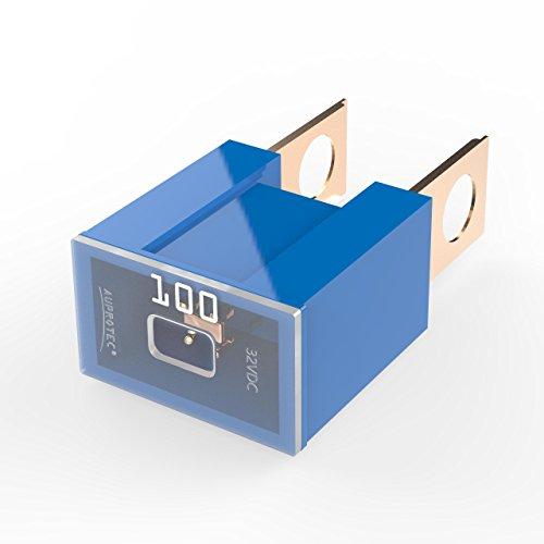 durable service Auprotec® PAL B fusible bloque mâle OTO BT fusibles japonaises 30A - 140A choix: 100A Ampere bleu, 3 pièces