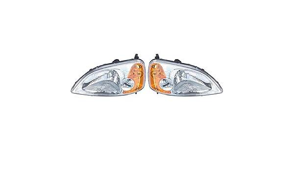 New Right Side Headlight Lamp Head Light For Honda Civic HO2519102 2001-2003