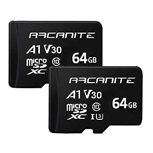 【Amazon.co.jp 限定】アルカナイト(ARCANITE) 2枚セット 64GB microSDXCカード AK2PV30A164
