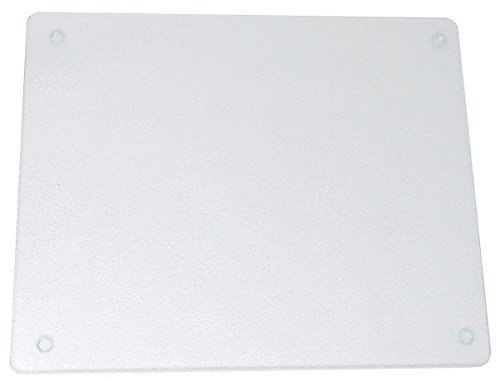 Surface Saver Vance 20 X 16 inch Clear Tempered Glass Cutting Board, 82016C, 20 X 16-Inch,