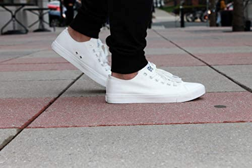 11.5 D Fear0 Men/'s Everyday Classic White Casual Sneakers Walking Tennis Shoes