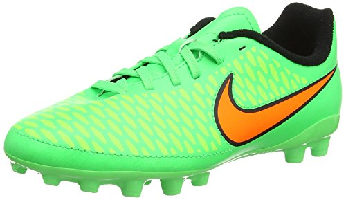 Nike Magista Onda Ag, Jungen Fußballschuhe Grün (poison Green/total Orange/flash Lime/black)