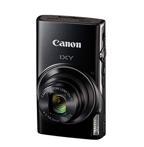 Canon コンパクトデジタルカメラ IXY 650 ブラック 光学12倍ズーム IXY650(BK)