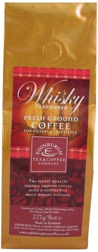 Edinburgh Tea and Coffee Company Whisky Ground Coffee 227 g (Pack of 3) (Company Ground)