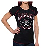 Harley-Davidson Women's Top Hat Sparkle Premium Embellished Tee, Black (M)