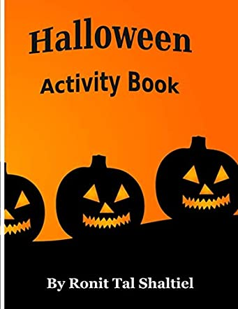Halloween Activity Book