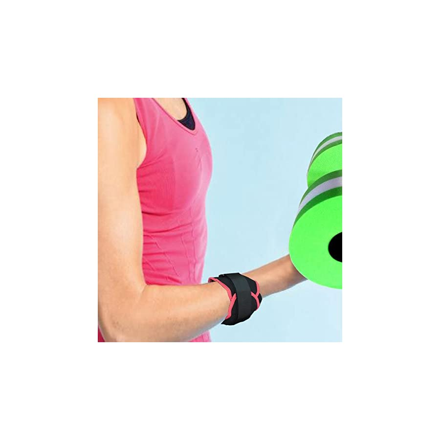 VERISA Ankle/Wrist Weights (1 Pair) for Women, Men and Kids Fully Adjustable Weight for Arm, Hand & Leg Best for Walking, Jogging, Gymnastics, Aerobics, Swimming