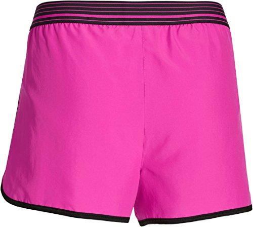 Under Armour Running kurze UA Perfect Pace Shorts - Pantalones cortos de fitness para mujer Rosa
