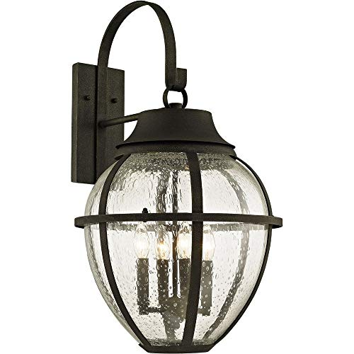 (Troy Lighting B6453 Bunker Hill Outdoor Wall Sconce, Vintage Bronze)