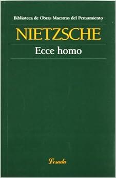 Book Ecce Homo / Ecce Homo (Spanish Edition)