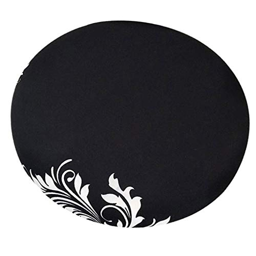 Fityle Elegant Removable Bar Stool Replacement Cover Round Chair Seat Cover Protector Desk Salon Sleeve - Style_8 by Fityle (Image #7)