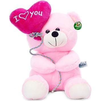 Buy tickles i love you balloon heart teddy pink 18 cm online at low buy tickles i love you balloon heart teddy pink 18 cm online at low prices in india amazon altavistaventures Choice Image