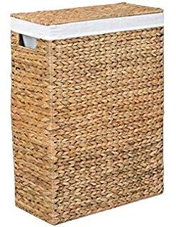 Ikea Branas Waschekorb Gefuttert Aus Rattan Amazon De Kuche