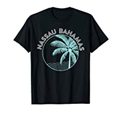 Lets watch the sun go down! This t-shirt with a beautiful and retro sunset print would make a wonderful gift for someone who loves sunsets and even more so for someone who loves to visit the exotic island of the Bahamas. This lovely retro pri...