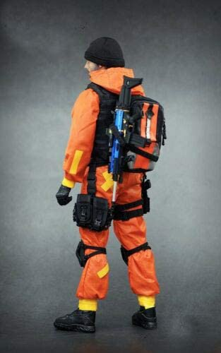 1//6 scale toy Quarantine Zone Agent Dark Blue Pants