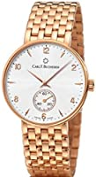 Carl F. Bucherer 18ct Solid Rose Gold Adamavi 34mm Small Men's Watch
