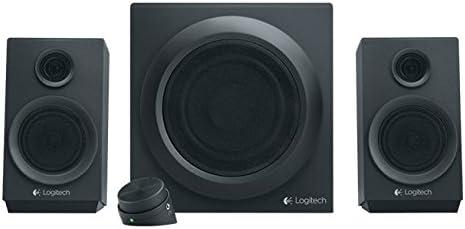 Logitech Z333 - Set de altavoces (2.1, 40W, PC, De 2 vías, 16W, 55 - 20000 Hz) Negro