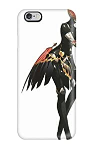 JDDAerZ6068GZyGh Persona Anime White Fashion Tpu 6 Plus Case Cover For Iphone