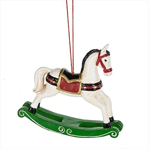 Midwest-CBK Victorian Rocking Horse Ornament (Rocking Accents Home Horse)
