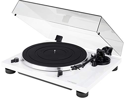 THORENS TD 201 Turntable with at 3600 Cartridge (White)