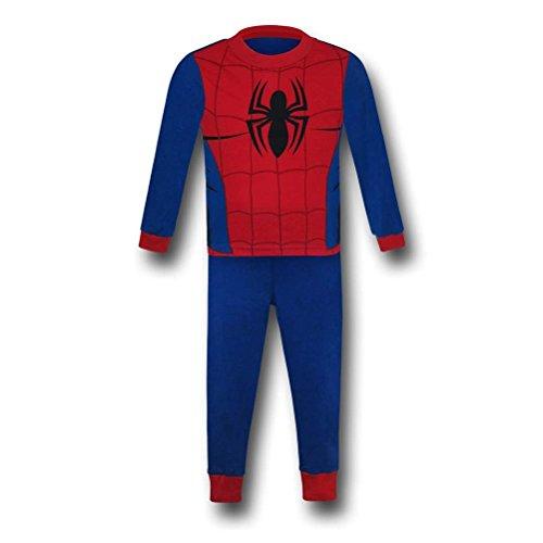 Spiderman Webhead Costume Kids Pajama Set- Juvy 8