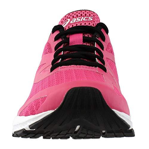 Atlético Talla Asics Mujeres Calzado blanco negro Rosado Hot T11xZtnw