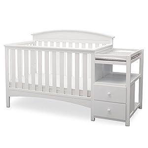 Delta Children Abby Convertible Crib 'N' Changer