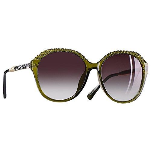 para C5Brown Degradado gafas mujer sol Mujeres de sol Gafas para polarizadas gafas C5Brown 2018 TIANLIANG04 de UV400 FqnH7w4x