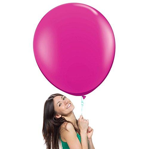 36 Inch (3 ft) Giant Jumbo Latex Balloons