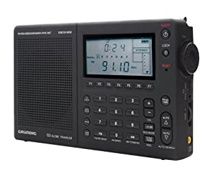 Grundig Globe Traveler G3 Portable AM/FM/Shortwave Radio, Black - (NG3B) (B001QTXKEW) | Amazon price tracker / tracking, Amazon price history charts, Amazon price watches, Amazon price drop alerts