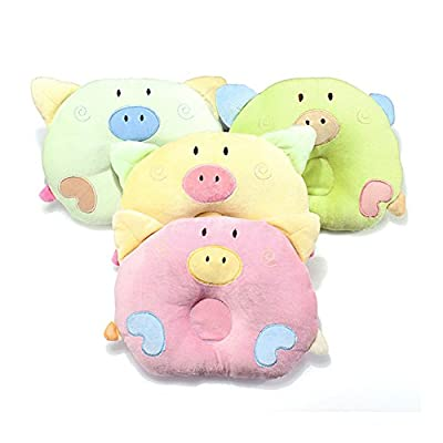 NEWEST Newborn Baby Infant Anti Roll Pillow Sleep Positioner Cushion Prevent Flat Head