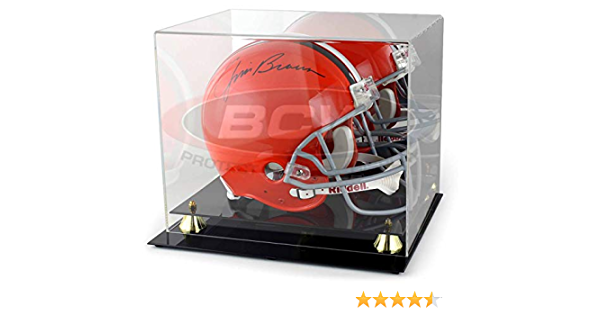 BCW Deluxe Helmet Display with Wall Mount