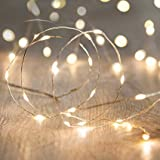 JNS WhOLESALE JNS 3 Meter Battery Operated Silver String LED Lights 30 LED, Decorative Strings, Fairy Lights, Light Color- Warm White (Yellow)