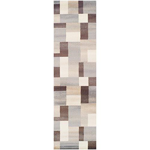Superior Elegant Clifton Area Rug Geometric Rectangular TileModern Pattern, 8' x 10', -