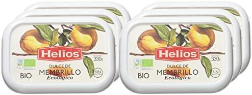 Helios Dulce de Membrillo Ecológico - 330 gr - , Pack de 6: Amazon ...