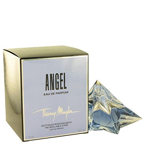 ANGEL by Thierry Mugler Eau De Parfum Spray Refillable Star 2.6 oz for Women by Angel Perfume