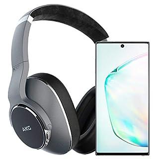 Samsung Galaxy Note 10 Factory Unlocked Cell Phone with 256GB (U.S. Warranty), Aura Glow (Silver) Note10 w/AKG N700NC Headphones