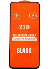 For Xiaomi Redmi Note 10 21D Glass Screen Protector With black frame anti shock